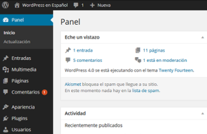 Disponible WordPress 4.1 y Joomla! 2.5.58