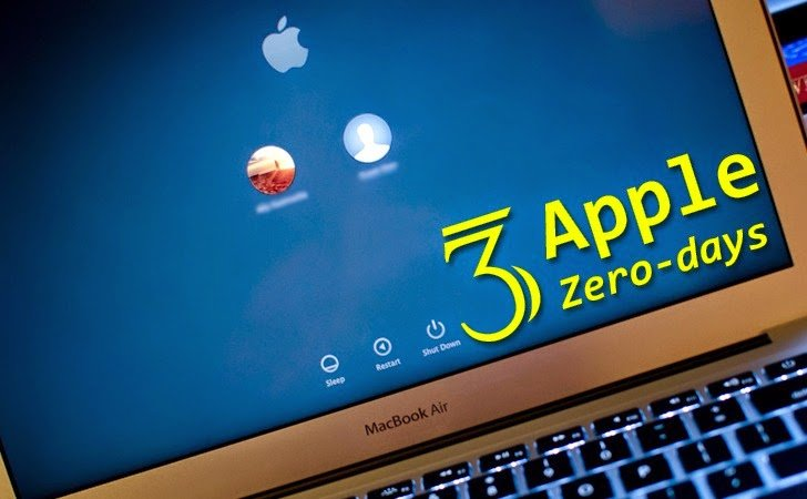 The Google Project Zero Zero Day vulnerabilities published three OS X
