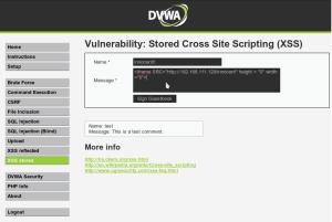 Vulnerabilidades web cómo configurar DVWA