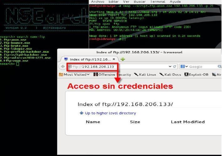 Scripts nse para auditorías con Nmap
