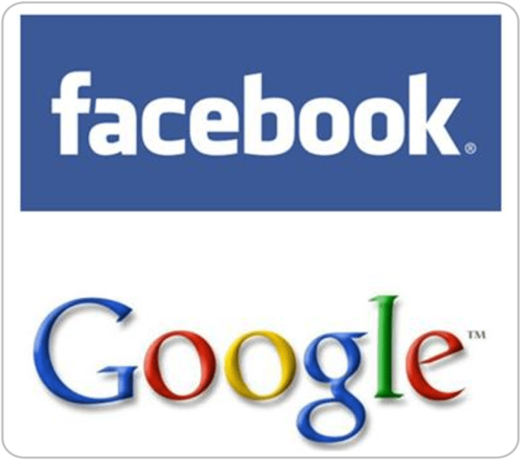 Facebook y actualizaciones de Google Chrome