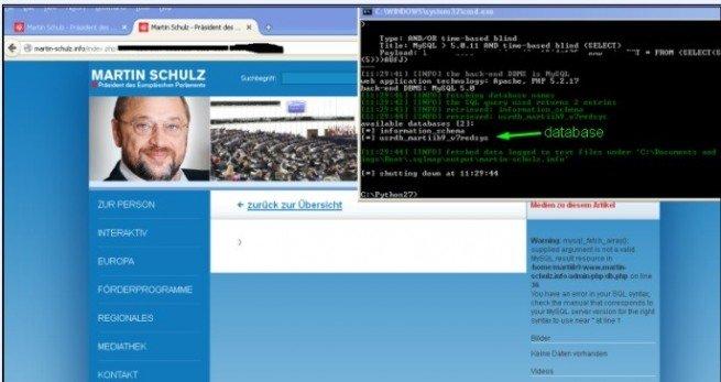 Hackean la página web del presidente Europeo