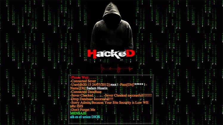 Islámico 'hackea' la página web del Ministerio de Defensa de Chile