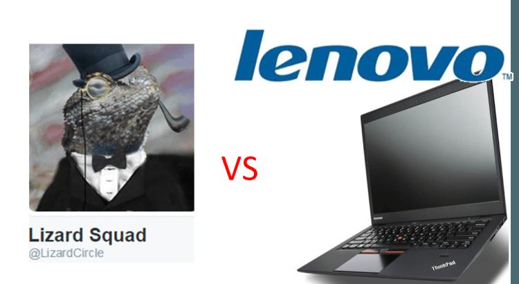 La web de Lenovo hackeada por LizardSquad