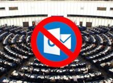 Prohíben la aplicación Outlook en el Parlamento Europeo