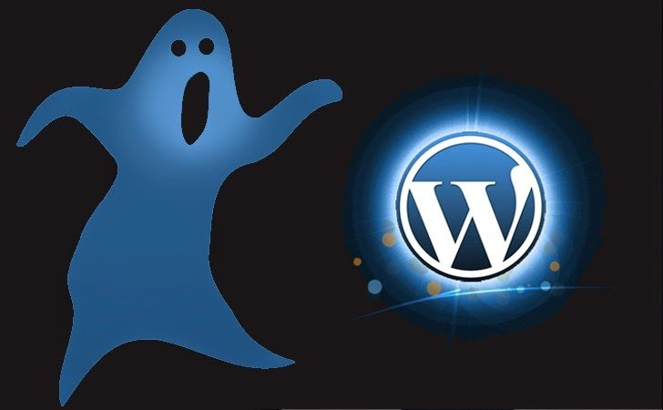 WordPress vulnerabilidad Ghost