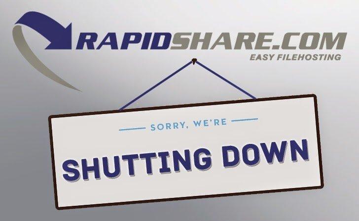 RapidShare cierra