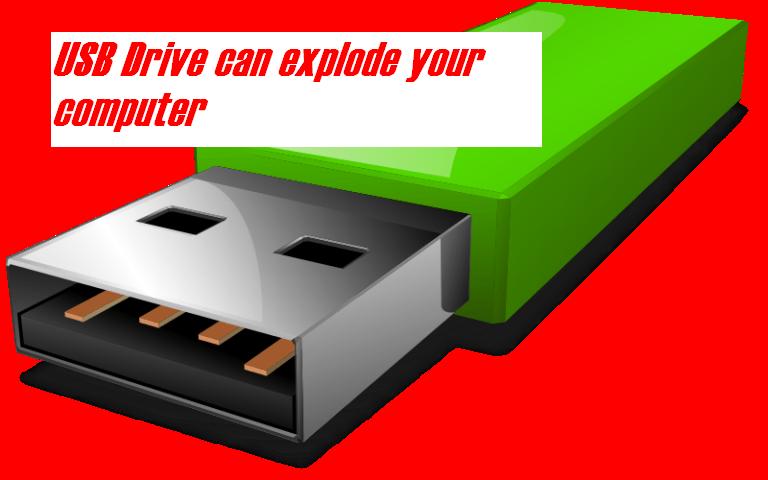 Cuidado con memorias USB perdidas, pueden destruir ordenador