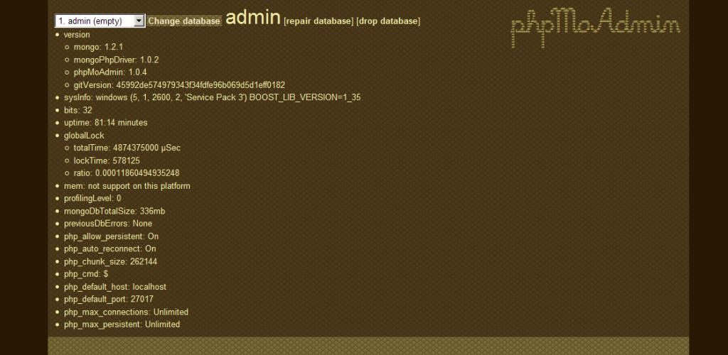 Se descubre un 0day en phpMoAdmin
