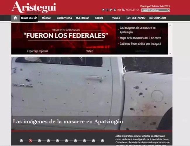 Ataque cibernético al sitio web de Aristegui Noticias
