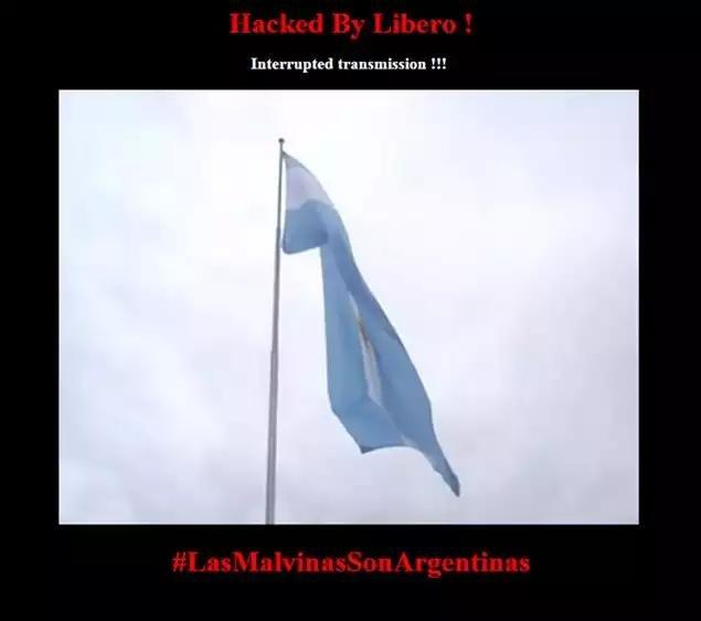Hacker intervino páginas web de Islas Malvinas con mensajes a favor de Argentina
