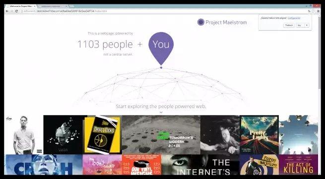 Project Maelstrom, el primer navegador basado en P2P