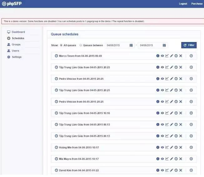 La programación de mensajes de Facebook afectada por inyección de código SQL