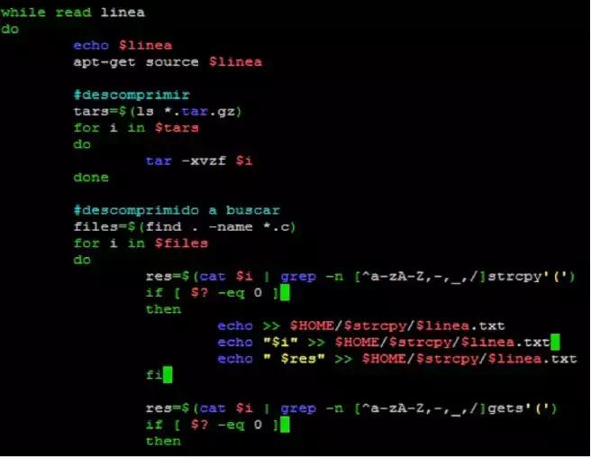 Identifies vulnerabilities of a Linux system with OSB-Rastreator