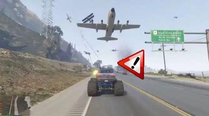 Mod de los aviones furiosos de GTA V viene con malwar