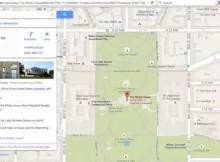 hacks a Google Maps, ahora con la Casa Blanca