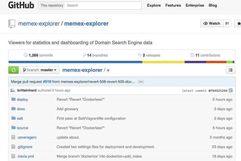Memex Search engine
