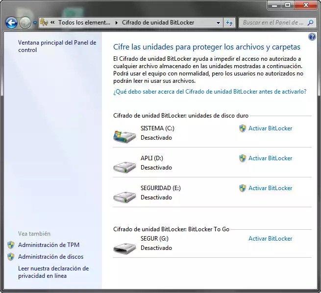 Cómo asegurar tu pendrive USB con BitLocker To Go