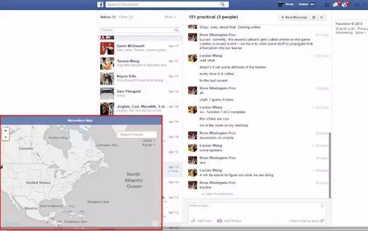 Un hack permite seguir la localización de tus amigos de Facebook