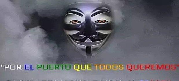 Anonymous bloquea la página de Turismo de El Puerto