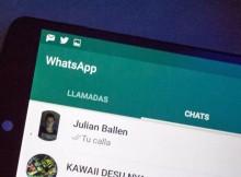 Aquí le contamos como implementar nueva actualización de WhatsApp
