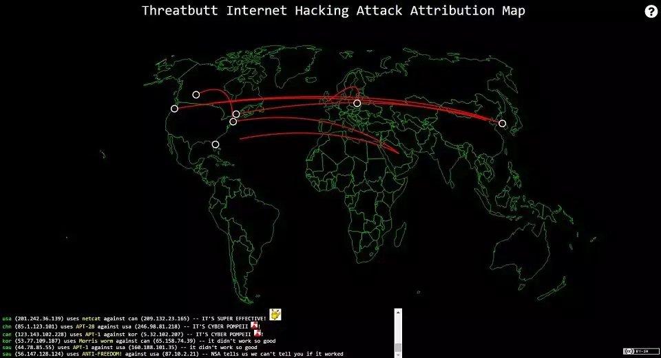 Threatbutt, una herramienta un tanto diferentes para seguir amenazas en vivo