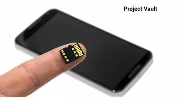 Google Project Vault, un móvil ultra seguro dentro de una tarjeta microSD