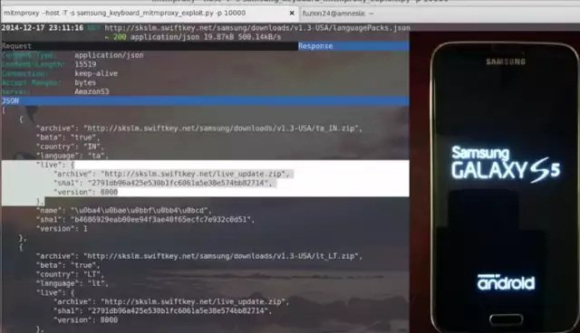 Millones de móviles Samsung en peligro por un bug de Swiftkey