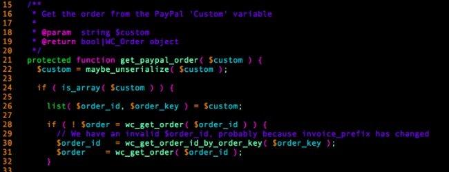 El método get_paypal_order