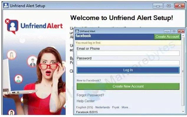 UnfriendAlert, una aplicación falsa diseñada para robar las cuentas de Facebook