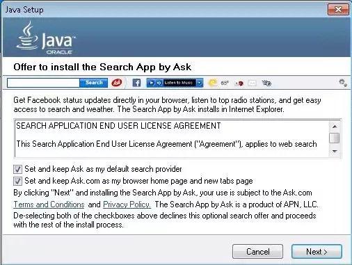 Ask Toolbar ahora será considerado malware por Microsoft