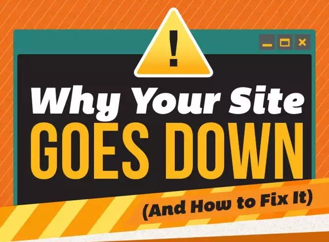 ¿Por qué está caído tu sitio web? Posibles causas y soluciones [Infografía]