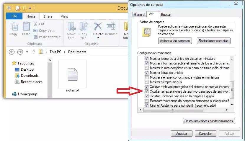 Cómo detectar troyanos o virus camuflados en sencillos archivos en Windows