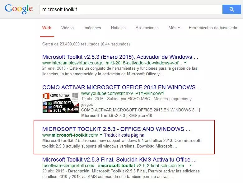 Microsoft toolkit v