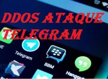 Ataque DDoS a Telegram afecta a usuarios a nivel global