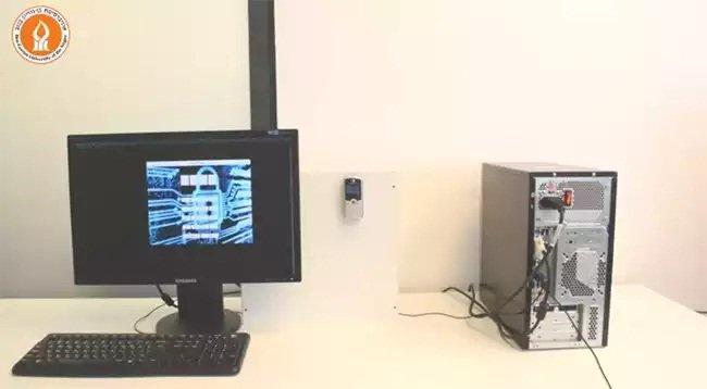 Hack Aire Gapped ordenador con el teléfono celular simple