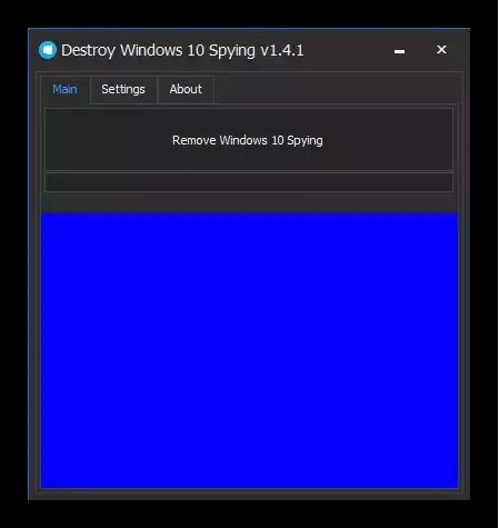 Destroy windows 10