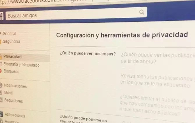 Un fallo en la privacidad de Facebook expone datos personales masivamente