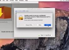 Una vulnerabilidad en el llavero de OS X permite robar contraseñas vía SMS u otros medios