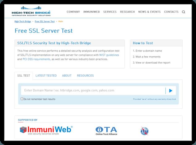 Free-SSL-Test-Server