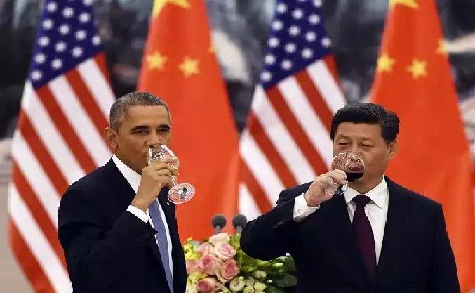 Xi Jinping durante su visita a EEUU