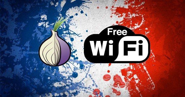 Francia quiere prohibir las redes WiFi gratuitas y TOR