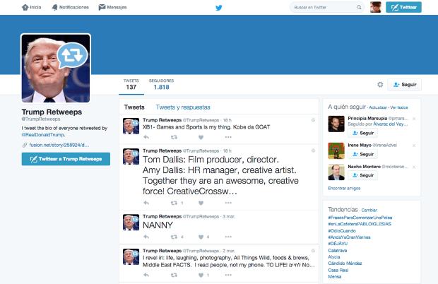 El MIT crea un bot de Twitter capaz de recoger todas las locuras de Trump. Y no es el más curioso de todos