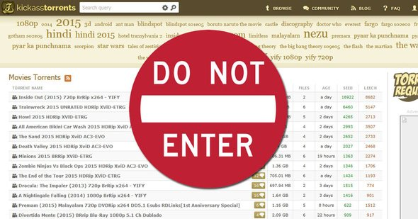 "Chrome y Firefox bloquean KickassTorrents marcándolo como ""phishing"""
