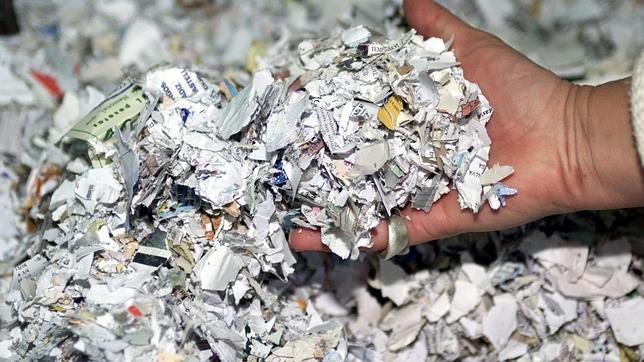 destrucción de documentacion confidencial