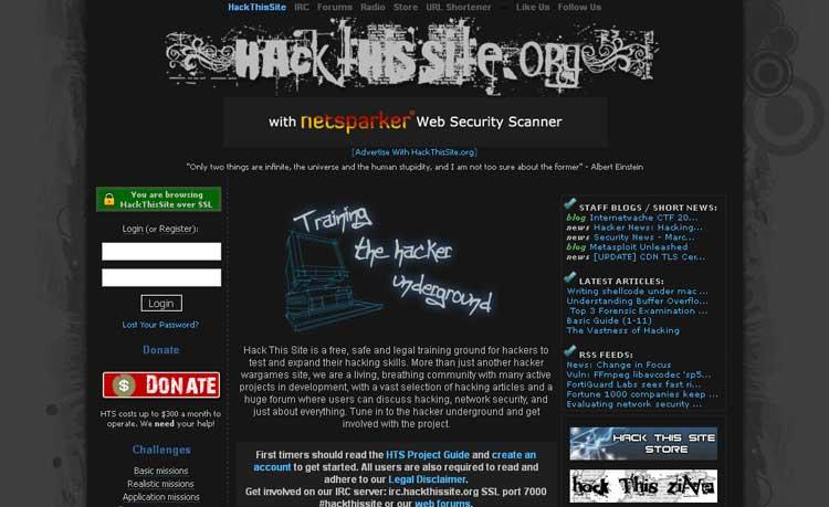 hackthissite