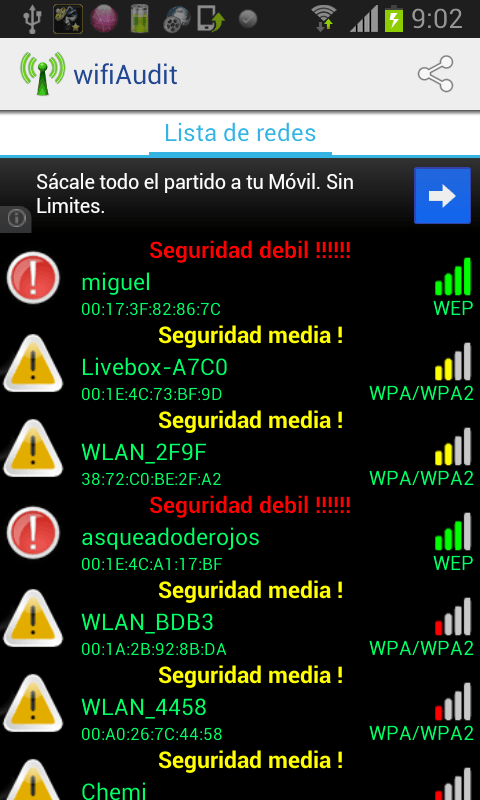 Wifiaudit