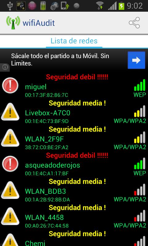 App para desbloquear wifi en iphone