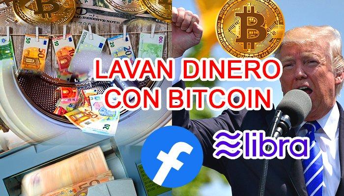noticias de seguridad lavar dinero bitcoin facebook libra trump