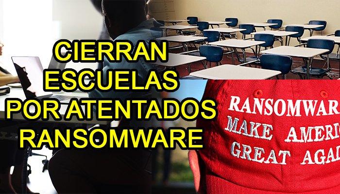 ransomware escuelas ciberseguridad hack hacking hackers